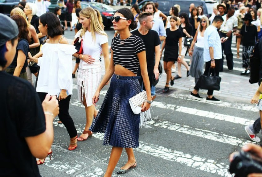 New York fashion week outfits