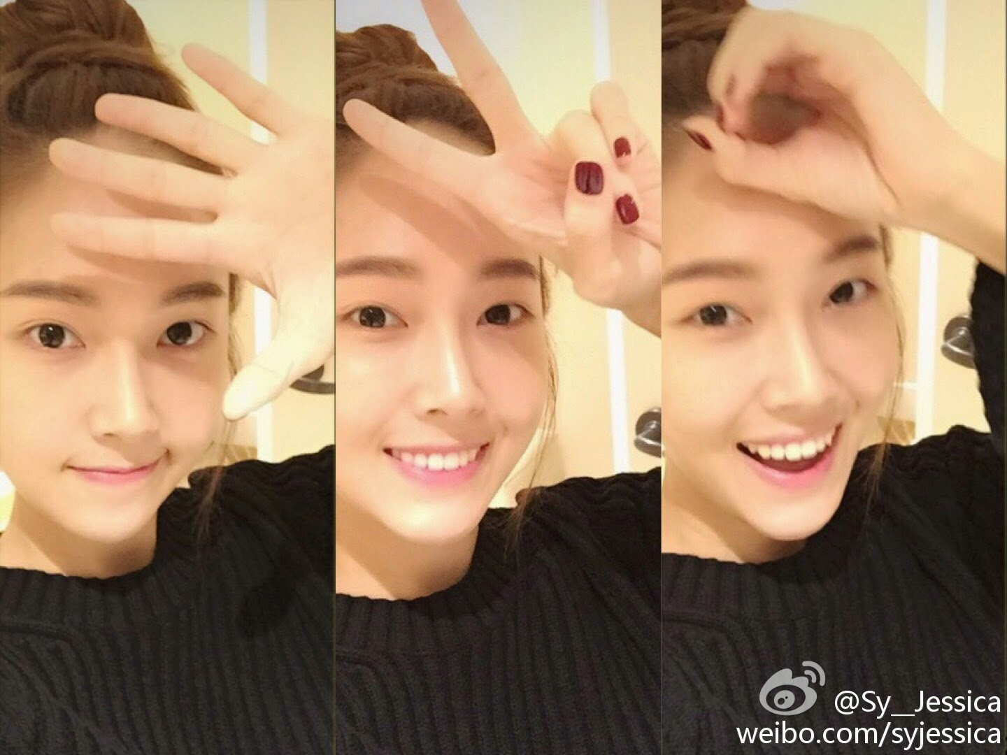 Jessica updates her Weibo with '520′