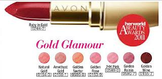 Ultra Moisture Rich 24K Gold Lipstick