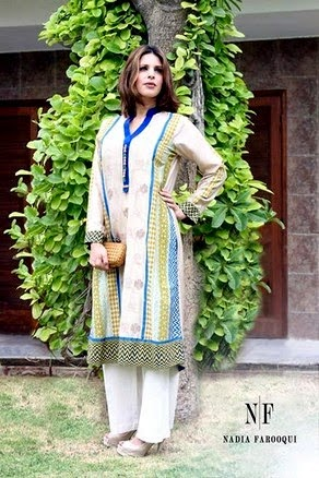Nadia Farooqui Eid Dresses for Girls