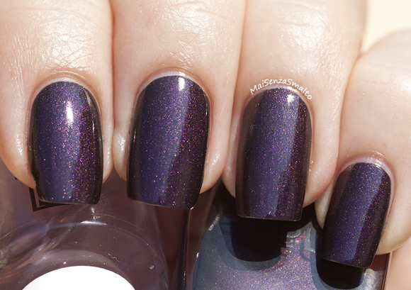 Shaka Deep 02 Golden Violet + top coat