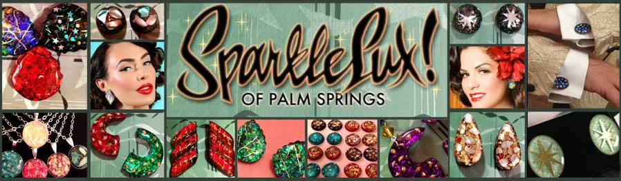 SparkleLux of Palm Springs: Mid-Century Inspired Jewelry by Miss Tayva