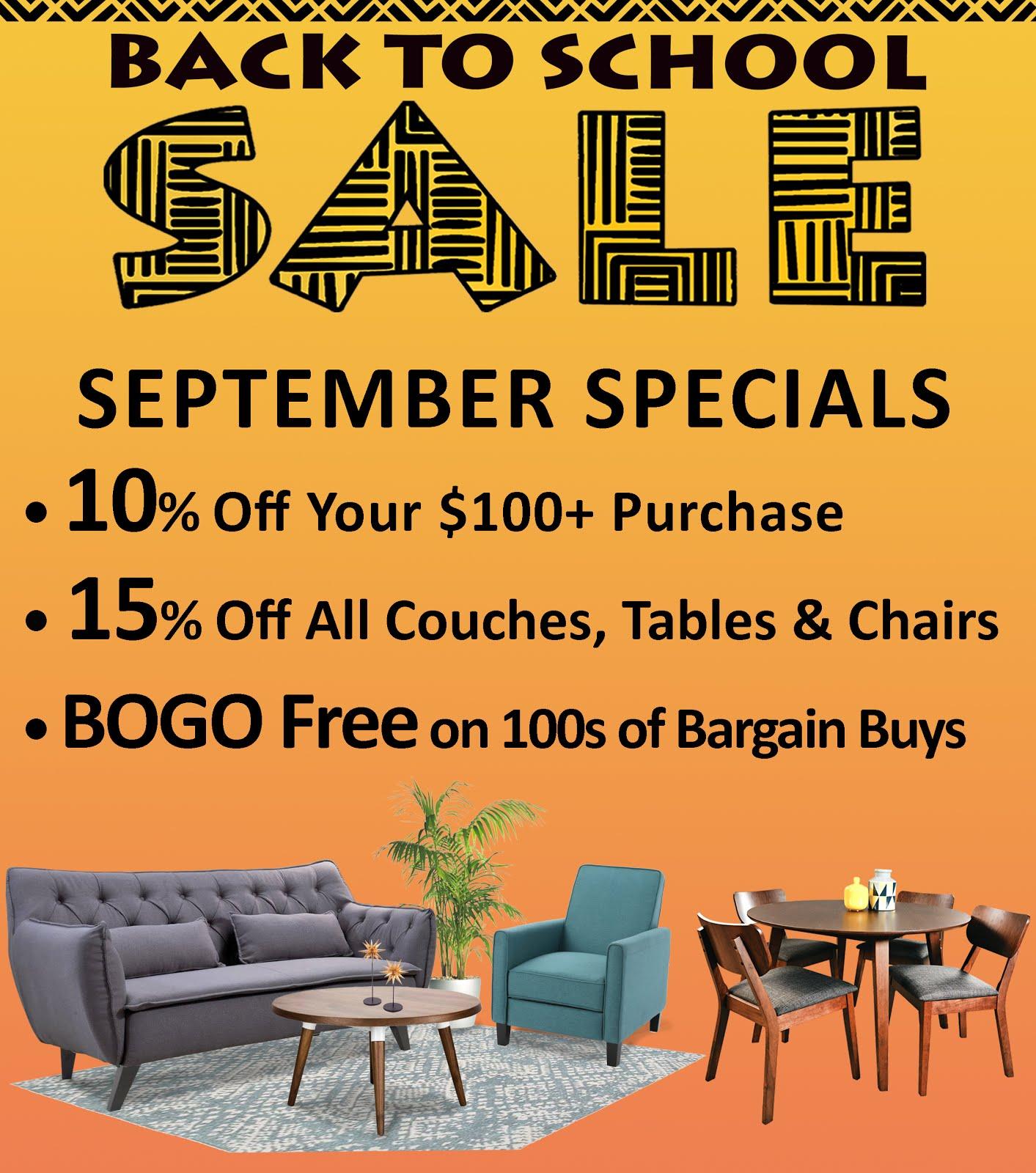 September Specials!