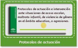 Protocolos de actuación e intervención ante: