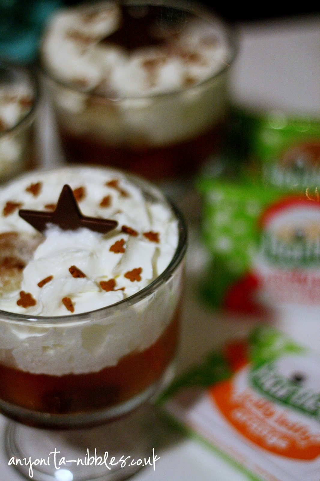 A trio of Christmas Stollen Trifles from Anyonita-Nibbles.co.uk