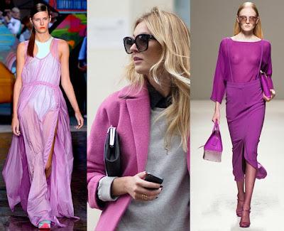 Vestidos na Cor da Moda em 2014