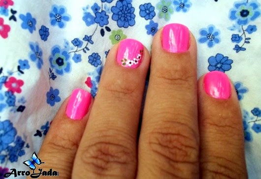 Esmalte Rosa Moda sertaneja