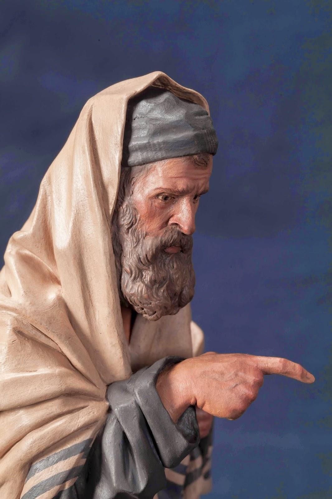 Belén presepe nativity krippe Arturo Serra escultura barro cocido 8