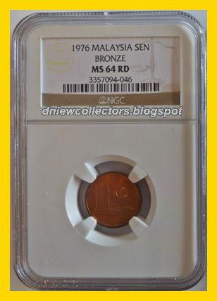1976 Bronze MS64RD