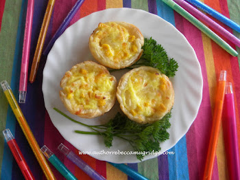 Healthy, Happy Lunch Boxes Recipe Sweet Corn & Pineapple Quiches