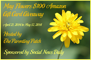 Enter the May Flowers $100 Amazon Gift Card Giveaway. Ends 5/11.