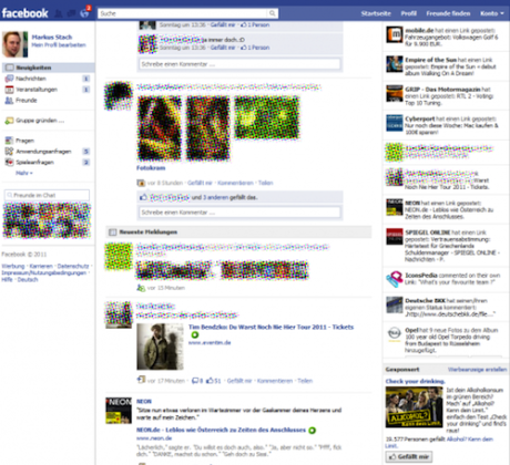 Facebook Redesign New Homepage Layout and Look