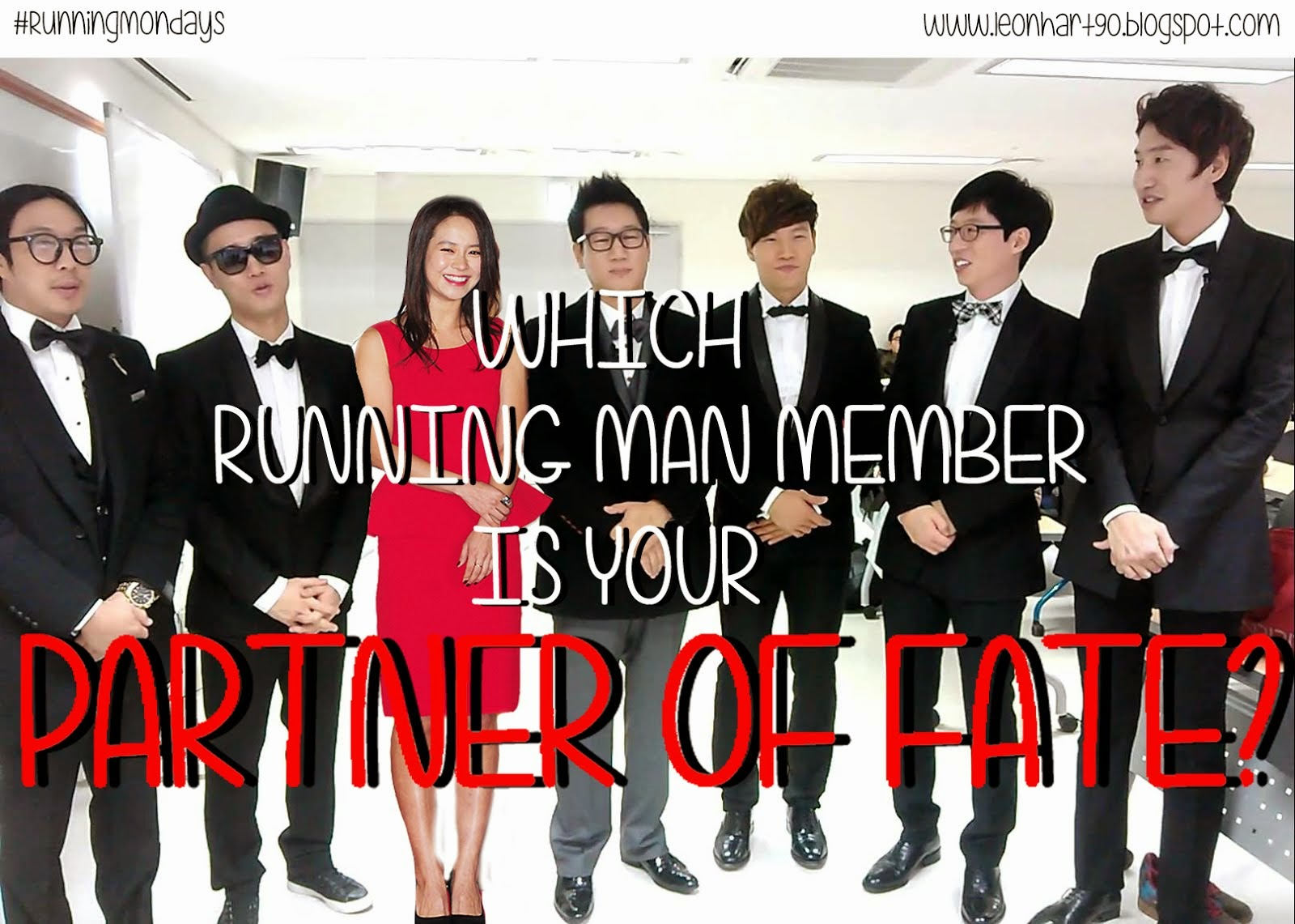 #RunningMondays Quiz: Which Running Man Member is your Partner of Fate