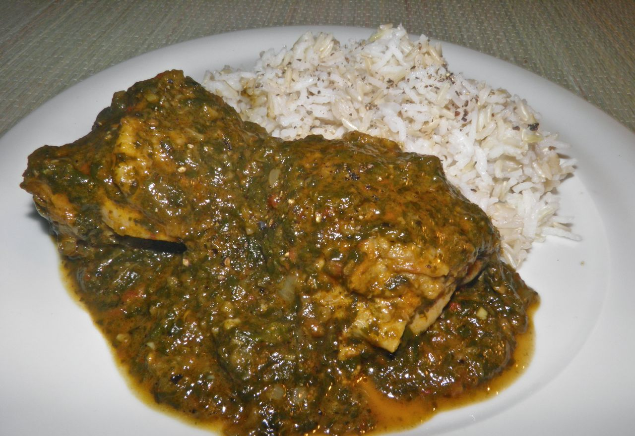 recipe: saag chicken recipe [12]