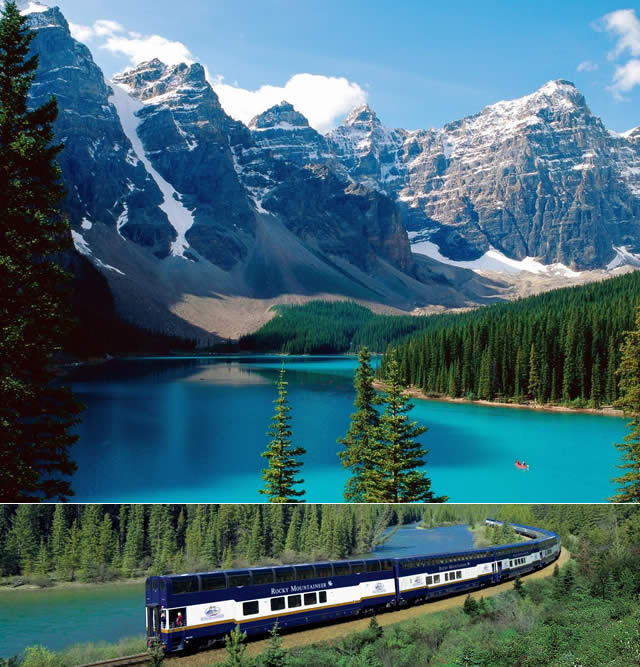 Montanhas Rochosas, Rocky Mountains, Canadá