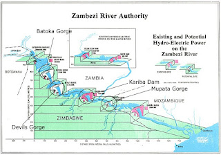 zambezi river dam projects