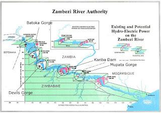 zambezi river dam projects
