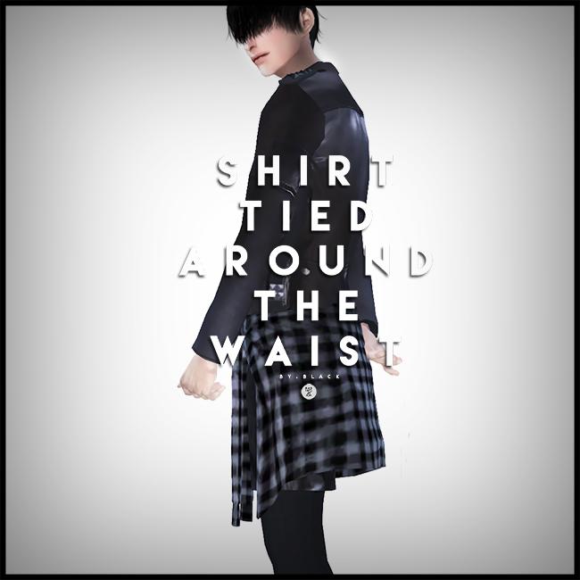 Sims 4 jacket around waist
