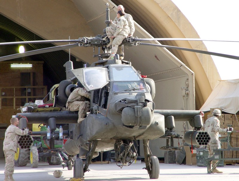 AH-64D Apache Longbow Attack Helicopter