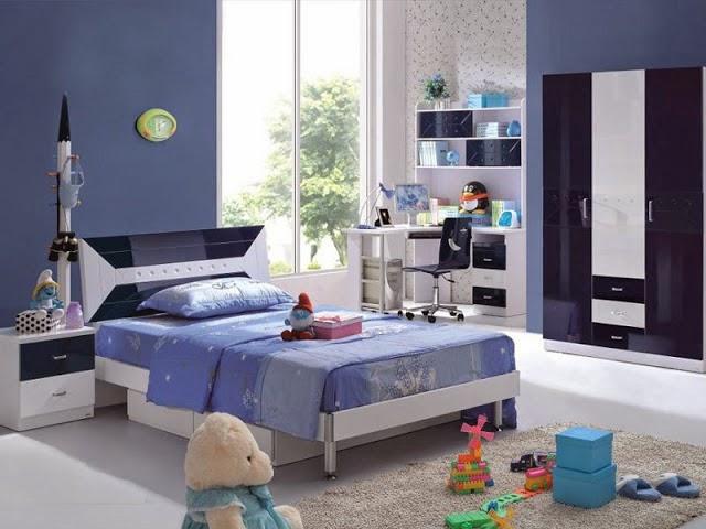 Desain kamar tidur anak perempuan 1