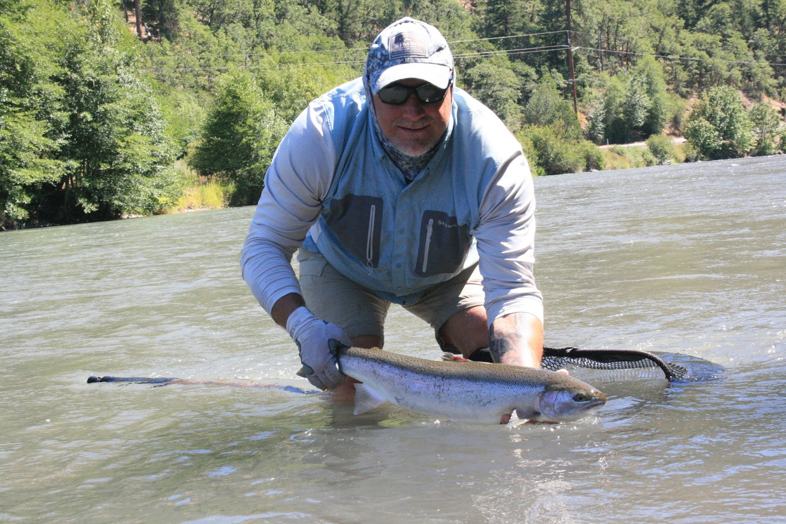 The evening hatch reports klickitat river report 7 24 15 for Klickitat river fishing report
