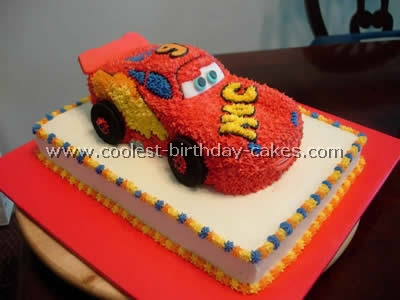 Cake Decoration Of Cars : Adventures In Creating: Con-Man s Birthday Preparations