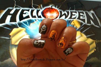 nail halloween