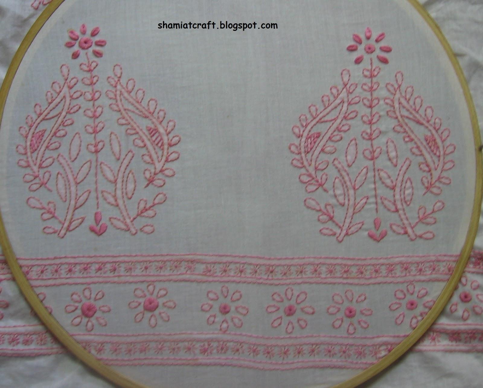 My Craft Works Chikankari Design