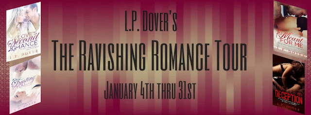 Blog Tour: The Ravishing Romance Tour by L.P. Dover
