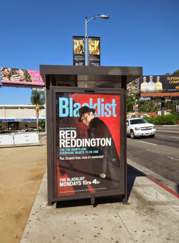 The Blacklist season 2 Entertainment Weekly magazine poster