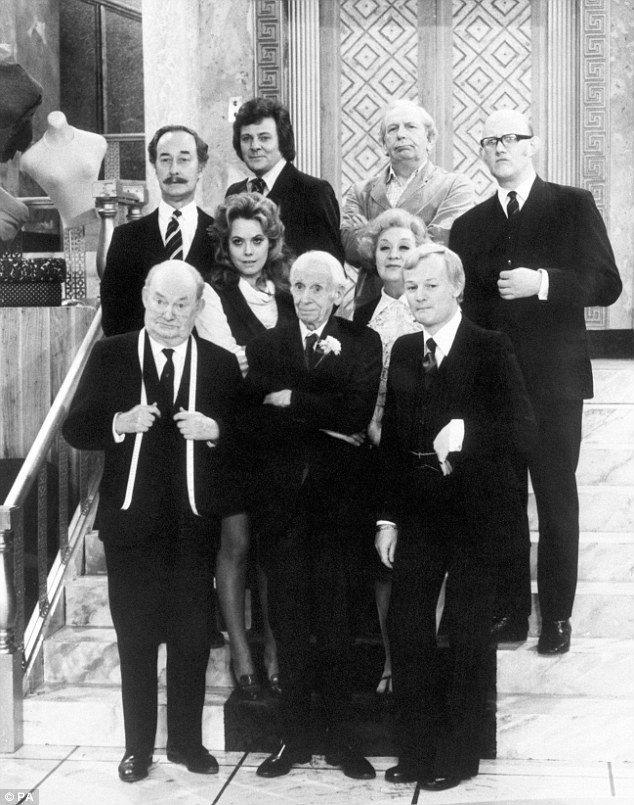 cast of 'Are You Being Served?'