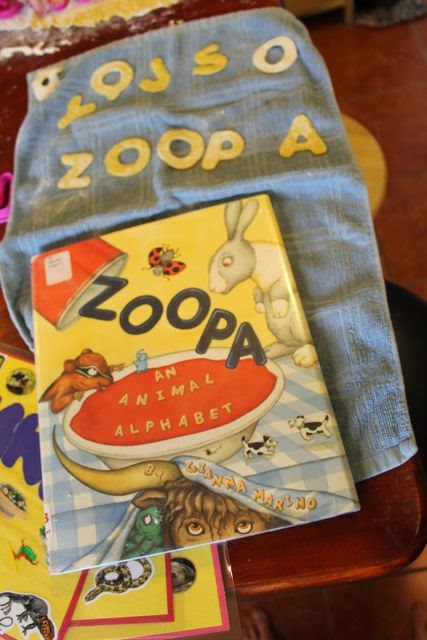 ZOOPA by Gianna Marino -- activity ideas via www.happybirthdayauthor.com