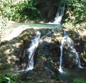 Flowing River Waterfall