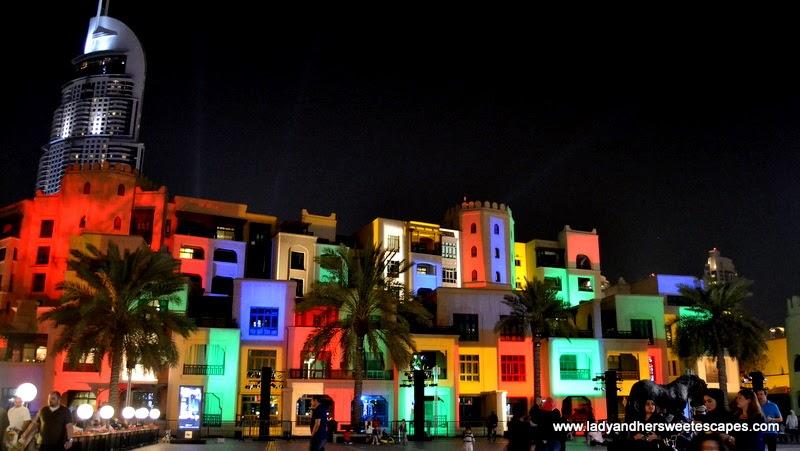 Dubai Festival of Lights at Downtown Dubai