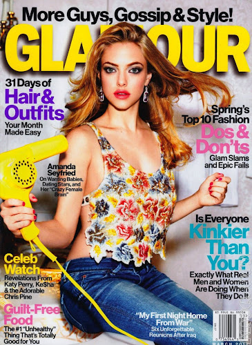 Amanda Seyfried Glamour US March 2012 Scans