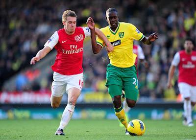 Norwich City 1 - 2 Arsenal (2)