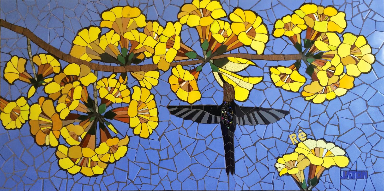 Mosaico creativo de fj mosaic art for El mural de mosaicos