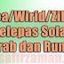 Doa/Wirid/Zikir Selepas Solat Bacaan Betul Arab dan Rumi