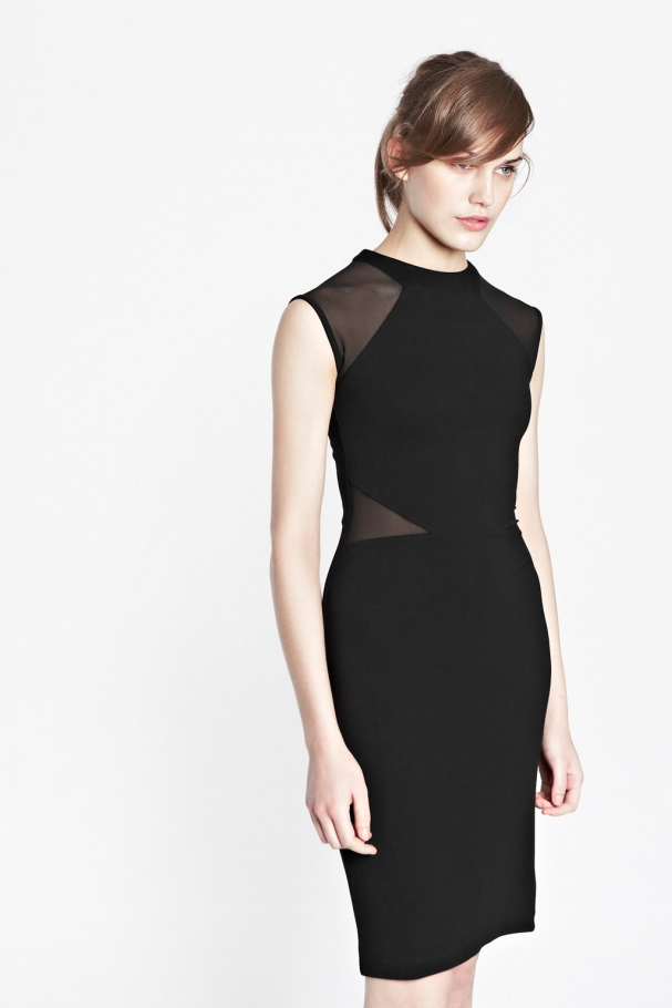 Viven Panelled Jersey Dress | French Connection
