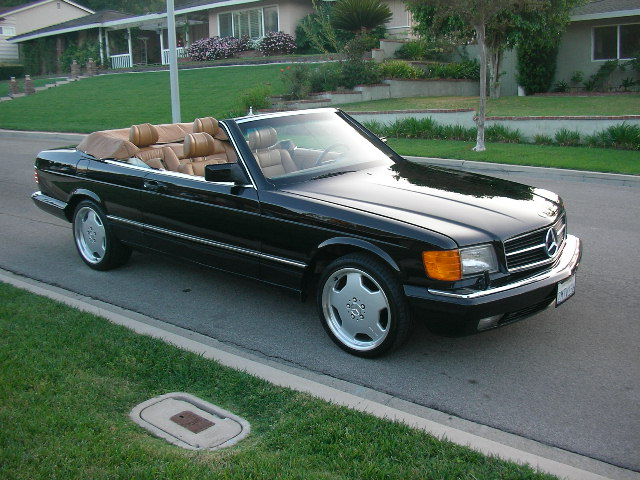 Mercedes benz 560 sec cabriolet w126 benztuning for Mercedes benz c123 for sale