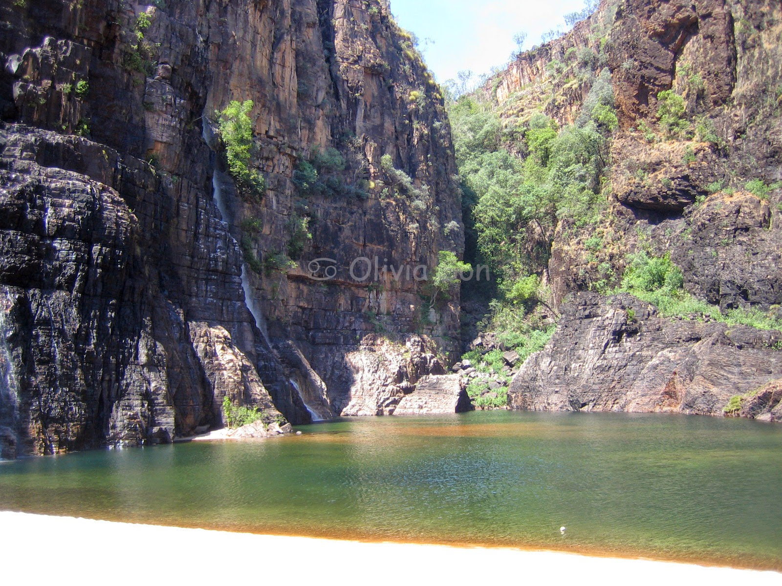 Twin Falls Kakadu National Park, Northern Territory, Australie