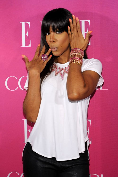 Fierce or Foolish: Kelly Rowland at Elle Women in Music Event ...