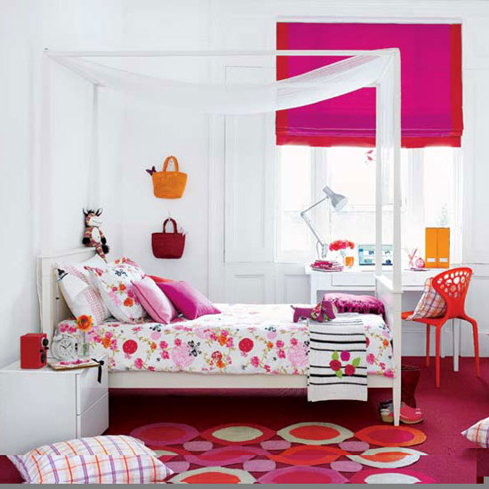 Carrie, Aurora, and Melody's Dorm Lovely-puple-girls-bedroom-ideas