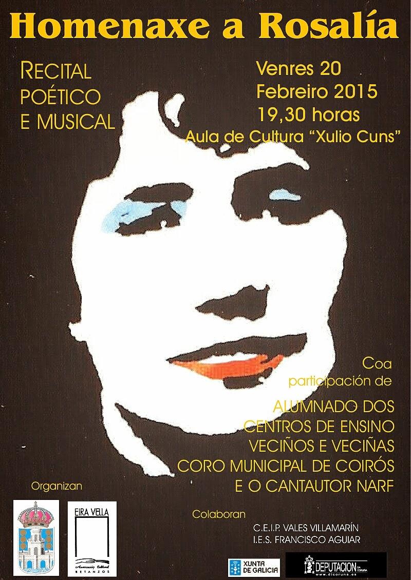 Homenaxe a Rosalía de Castro