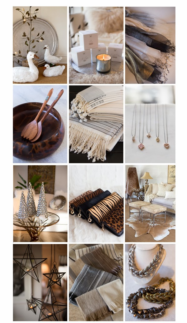 Maison K Holiday Countdown Gift Giving and Home Decor Inspiration 2013 Santa Barbara