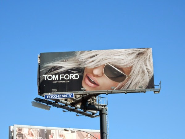 Tom Ford 2015 Eyewear billboard