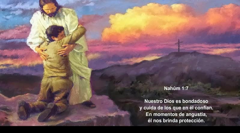 """JESUS PODEROSO GUERRERO: Nahum 1:7 ~~~ """" Bondadoso Dios """": http://poderosoguerrerodejesus.blogspot.com/2013/09/nahum-17-bondadoso-dios.html"""