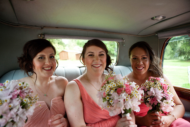 {Lillian and Leonard Wedding Photography} coral mismatched bridesmaids