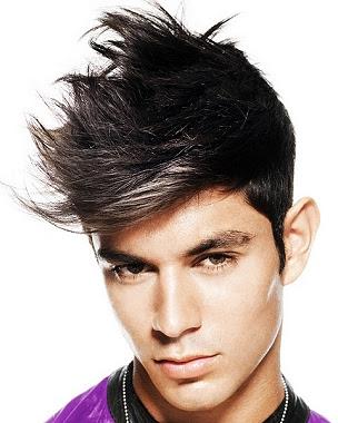 Cortes de pelo masculinos las crestas están de moda Modaellos  - Peinados Con Cresta Hombres