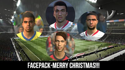 PES 2016 Facepack Merry Christmas by Wygno Facemaker